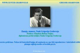 Znanje, znanost, Nauk Grigorija Grabovoja
