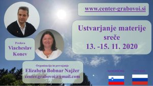 Creating the Matter of Happiness @ Webinar, doma, for PC, translation from Russian into Slovenian | Ljubljana | Slovenia