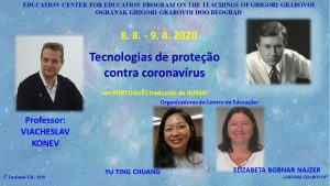 COVID PROTECTION AND SELF-HEALING TECHNOLOGIES 19 @ Webinar, in PORTUGUESE translated from RUSSIAN | Ljubljana | Slovenia
