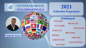 Education  Programme 2021 @ Webinar | Ljubljana | Slovenia