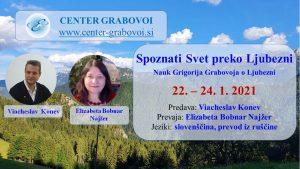 Spoznati Svet preko Ljubezni @ webinar, slovenščina, prevod iz ruščine | Ljubljana | Slovenia