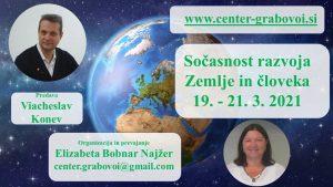 Simultaneous development of the Earth and man @ webinar, Slovene, translation from Russian   Ljubljana   Slovenia