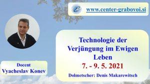 Technologie der Verjüngung im Ewigen Leben @ webinar, Russisch und Deutsch | Ljubljana | Slowenien