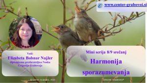 Harmonija sporazumevanja @ webinar, slovenščina | Ljubljana | Slovenia