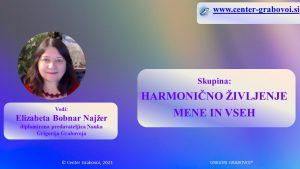 Гармоничная жизнь меня и всех @webinar, словенский | Любляна | Словения